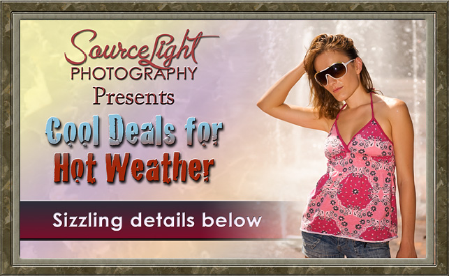 Promotions and Special Offers from Sourcelight Photography