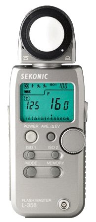 Sekonic L-358 incident light meter