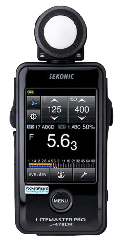 Sekonic's L-478DR incident light meter